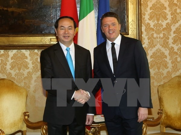 Vietnam hopes for more effective cooperation with Italy  - ảnh 1