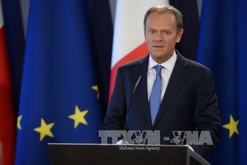 EU unveils Brexit negotiation plan - ảnh 1