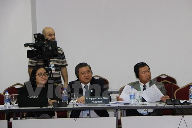 Vietnam participates in a session of the 136th IPU Executive Committee - ảnh 1