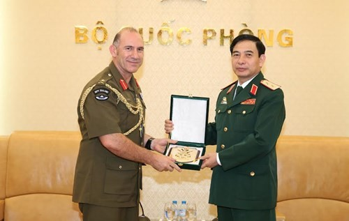 Vietnam, New Zealand boost army cooperation - ảnh 1