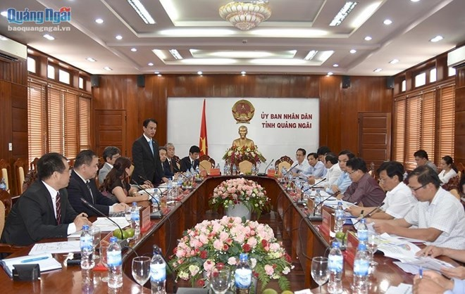 Japan firm to build Quang Ngai power plant - ảnh 1