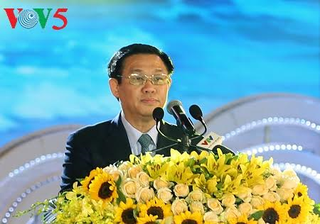 Deputy Prime Minister Vuong Dinh Hue joined festival of 110th anniversary of Sam Son tourism - ảnh 1