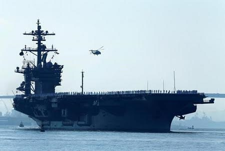 Japan started joint drill with US in the Pacific Ocean  - ảnh 1