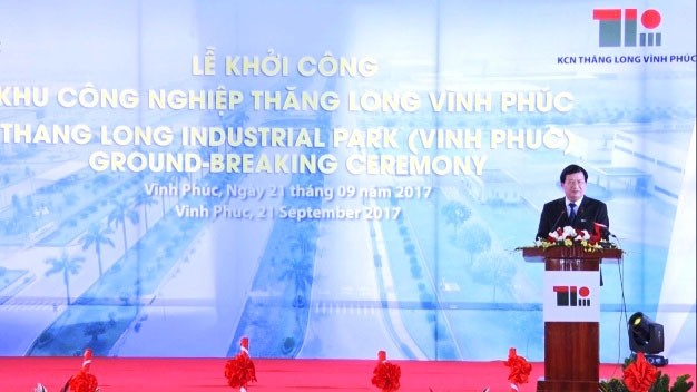 Ground-breaking ceremony of Thang Long-Vinh Phuc industrial zone  - ảnh 1