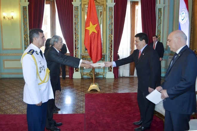 Vietnam, Paraguay agree to foster bilateral relations - ảnh 1