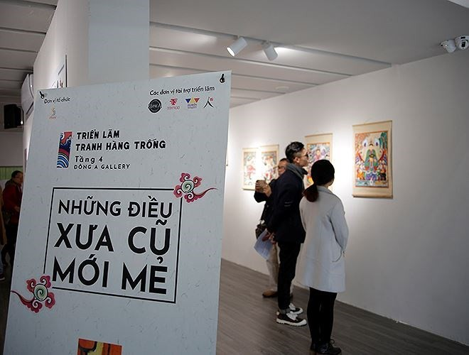 "Hang Trong folk painting exhibition ""The New Classics"" - ảnh 2"