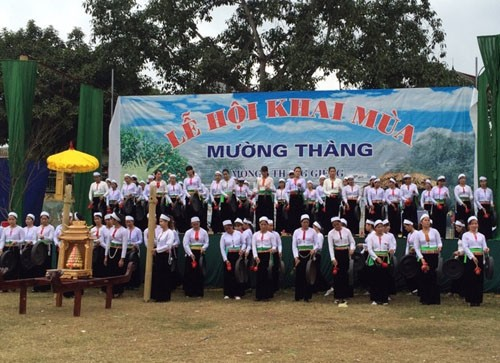 Cao Phong district preserves Muong Thang culture - ảnh 1