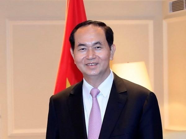 President Tran Dai Quang pays official visit to Japan - ảnh 1