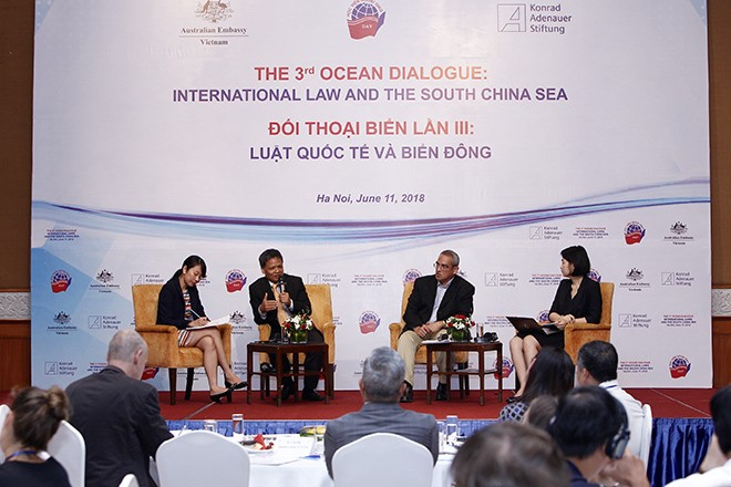 Ocean Dialogue discusses international law, East Sea - ảnh 1