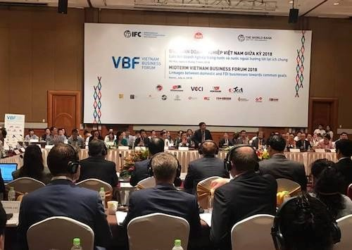 Domestic, foreign businesses urged to cooperate for common interests - ảnh 1