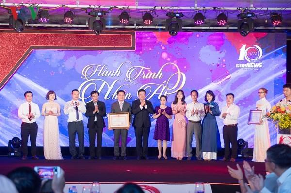 VOV President Nguyen The Ky attends 10th anniversary of VTC news - ảnh 1