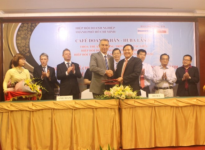 Agreement inked to boost businesses' technology transfer - ảnh 1
