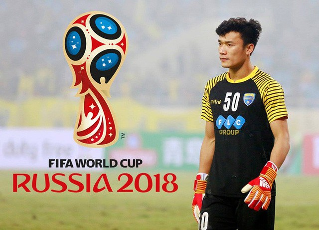 Goalkeeper Bui Tien Dung to present