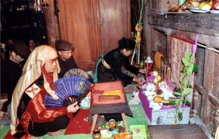 Longevity celebration of the Nung in Bac Giang - ảnh 1