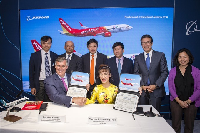Vietjet Air to buy 100 Boeing, 50 Airbus aircraft - ảnh 1
