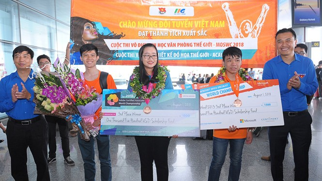 Vietnam wins three bronzes in world informatics, design contests - ảnh 1