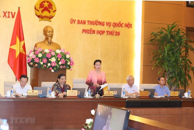 NA Standing Committee convenes 26th session - ảnh 1