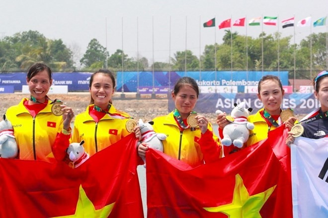 Vietnam stands at 13th place at ASIAD 2018 - ảnh 1