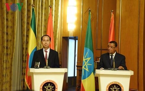 Vietnam, Ethiopia pledge greater economic, trade cooperation - ảnh 1