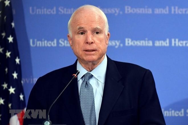 John McCain and milestones in Vietnam-US relations - ảnh 1