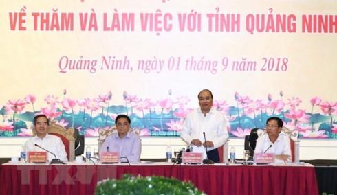 PM: Quang Ninh should focus on urban development - ảnh 1