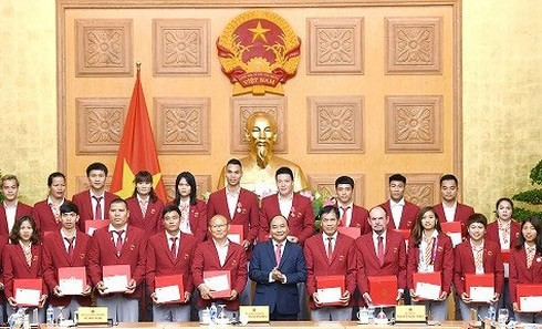 PM: Vietnamese sport team's victory strenghten people's belief - ảnh 1