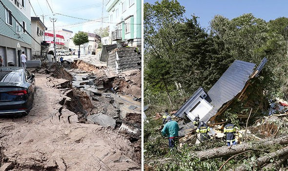 Powerful quake in Hokkaido causes large amount of casualties - ảnh 1