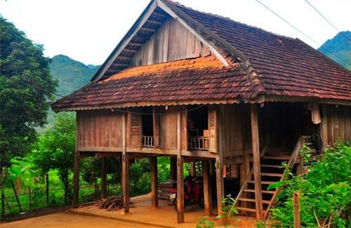 Thai stilt house culture  - ảnh 1
