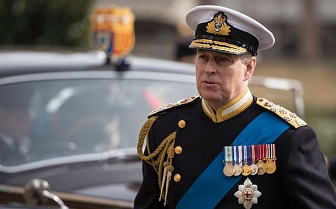 Party chief hosts UK Prince Andrew - ảnh 1