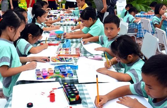 Denmark's painting competition for Vietnamese children kicks off - ảnh 2
