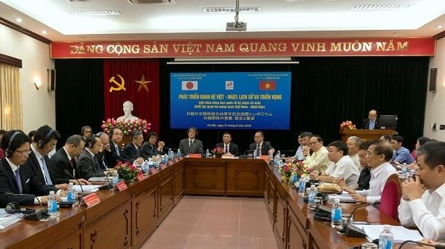 Vietnam, Japan promote extensive strategic partnership  - ảnh 1