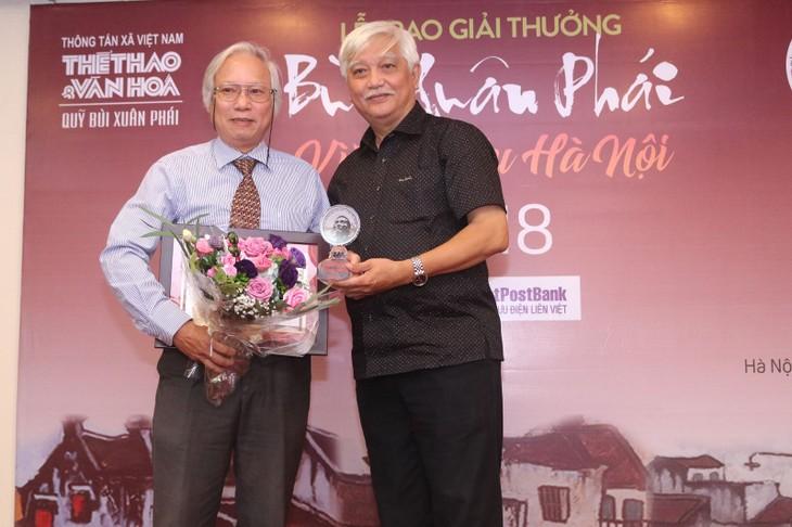 """Bui XuanPhai – For Love of Hanoi"" award announced  - ảnh 3"