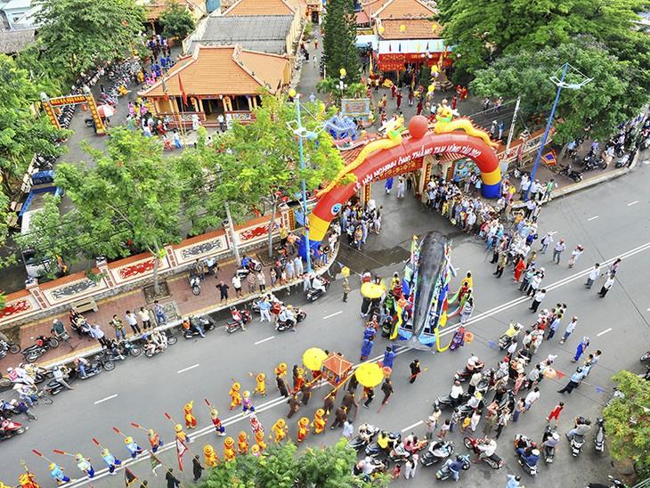 Traditional festivals create impressive Ba Ria–Vung Tau - ảnh 1