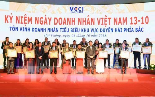 Outstanding northern coastal businessmen honoured - ảnh 1