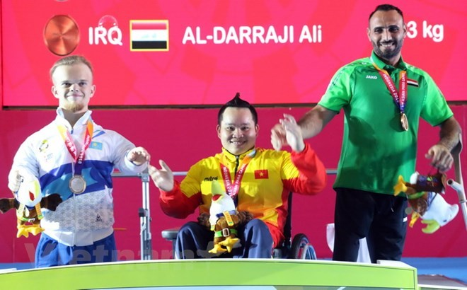 Vietnam wins second gold medal at Asian Para Games 2018 - ảnh 1