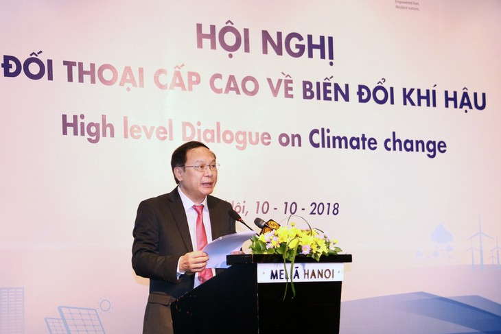 Vietnam implements commitments on climate change response - ảnh 1