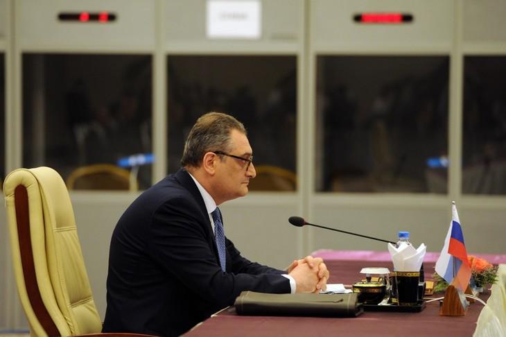 DPRK, China, Russia discuss denuclearization  - ảnh 1