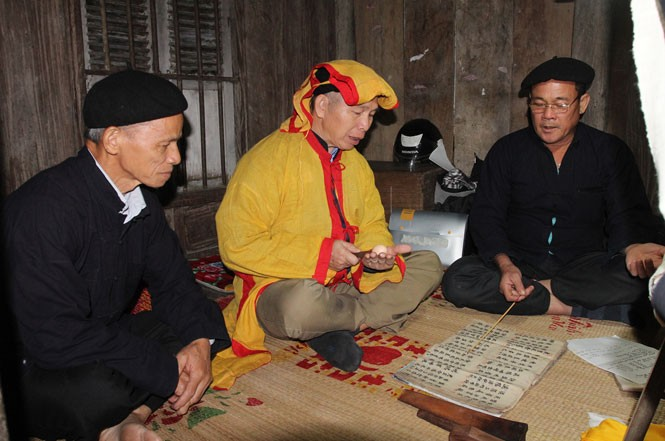 The Nung's longevity ceremony for parents - ảnh 2