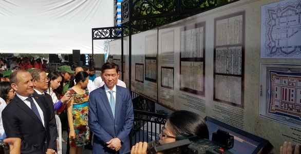 Exhibition on French architecture underway in Ho Chi Minh City - ảnh 1