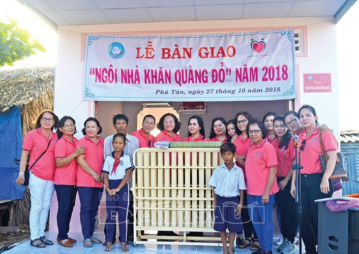 Red scarf houses inspire U Minh disadvantaged children to continue study - ảnh 1