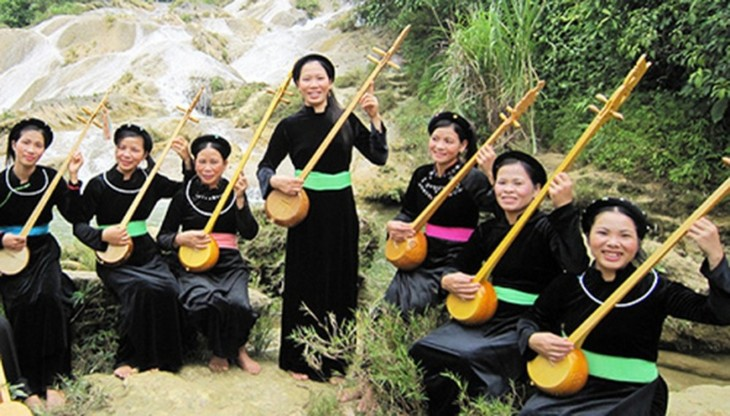 Tinh musical instrument of the Tay in Cao Bang - ảnh 2