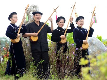Tinh musical instrument of the Tay in Cao Bang - ảnh 1