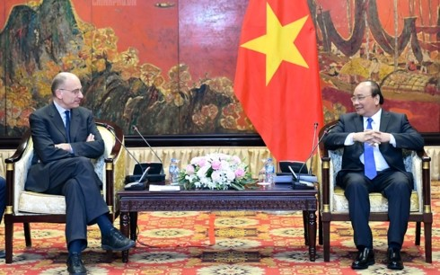 Prime Minister welcomes President of Italy-ASEAN Association - ảnh 1
