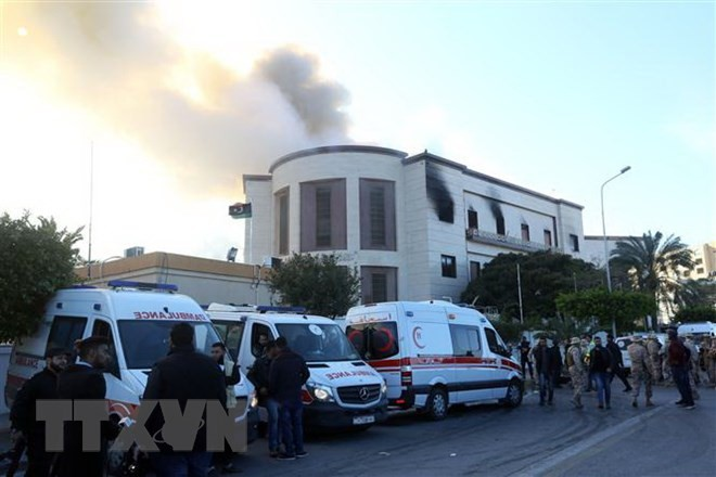 UN condemns attack on Libya's Foreign Ministry headquarters - ảnh 1