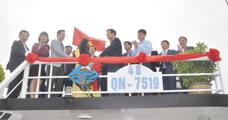 Scores of tourist ships earn Blue Sail logo - ảnh 2