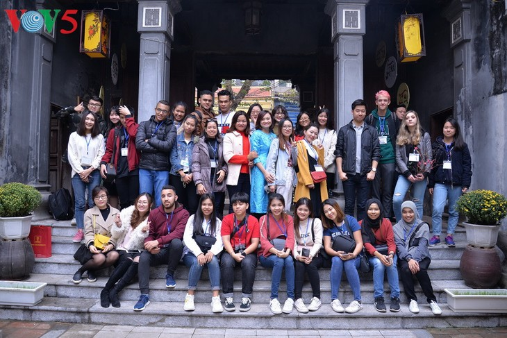 Tet in the eyes of international students  - ảnh 17