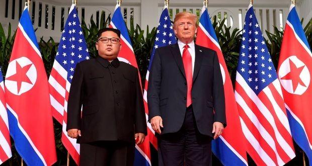 Trump raises prospect of easing sanctions on DPRK - ảnh 1