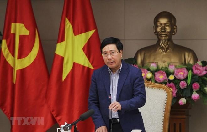 Deputy PM reviews preparation for US-DPRK summit - ảnh 1