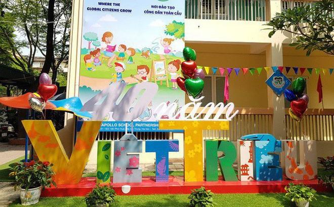 Viet Trieu Friendship Kindergarten, a symbol of solidarity - ảnh 1
