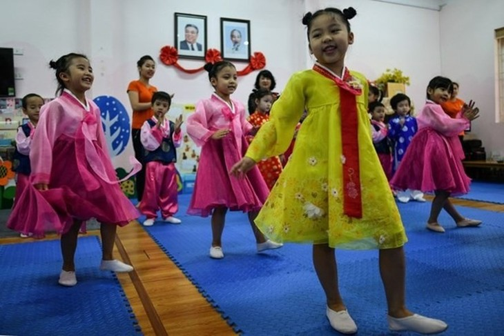 Viet Trieu Friendship Kindergarten, a symbol of solidarity - ảnh 2